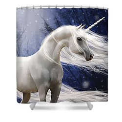 Moonbeam The Second Shower Curtain by Kate Black