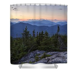 Mount Chocorua Scenic Area - Albany New Hampshire Usa Shower Curtain