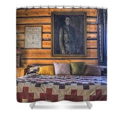 Mountain Sweet Shower Curtain by Juli Scalzi