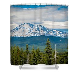 Mt. Adams From Indian Heaven Wilderness Shower Curtain