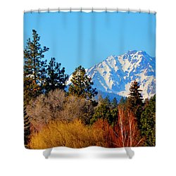 Mt Bachelor 21620 Shower Curtain