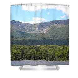 Mt. Katahdin Shower Curtain by James Petersen