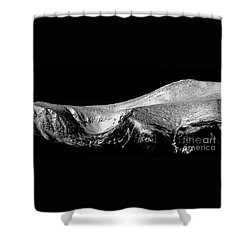 Mt Washington And Tuckerman Ravine Shower Curtain