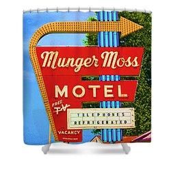 Munger Moss Motel Shower Curtain
