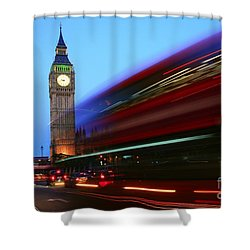 Must Be London Shower Curtain