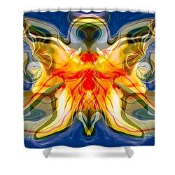 My Angel Shower Curtain by Omaste Witkowski