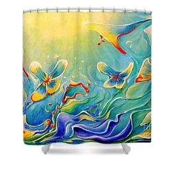 My Dream Shower Curtain by Teresa Wegrzyn