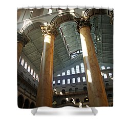 National Building Museum Shower Curtain by Cora Wandel