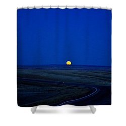 Native Moon Shower Curtain