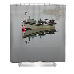 New Hampshire Sea Coast  Shower Curtain