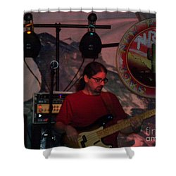 New Riders Of The Purple Sage Shower Curtain by Kelly Awad