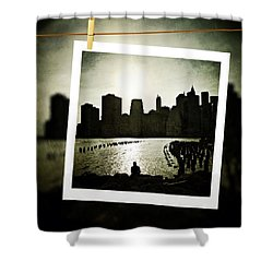 New York In June Shower Curtain