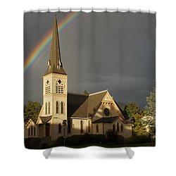 Newman United Methodist Church Shower Curtain