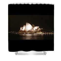 Night At The Opera Shower Curtain by Ellen Henneke