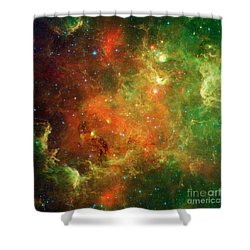 North America Nebula Shower Curtain by Science Source