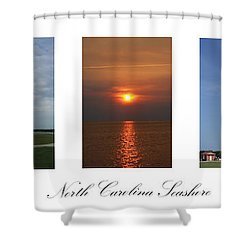 North Carolina Seashore Shower Curtain