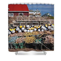 North Rustico Shower Curtain by Elena Elisseeva