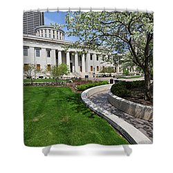 D13l-145 Ohio Statehouse Photo Shower Curtain
