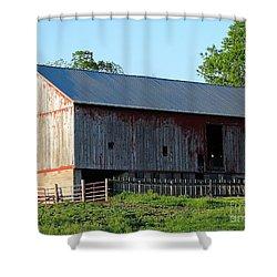 Old Barn Shower Curtain by Gena Weiser