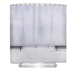 Old Friends Shower Curtain by Scott Norris