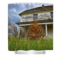 Omen Shower Curtain by Skip Hunt