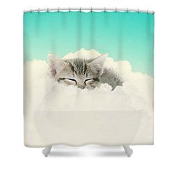 On Cloud Nine Shower Curtain