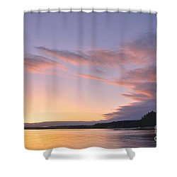 On Puget Sound - 2 Shower Curtain