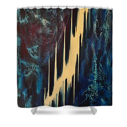 Only One Way Shower Curtain by Wayne Cantrell