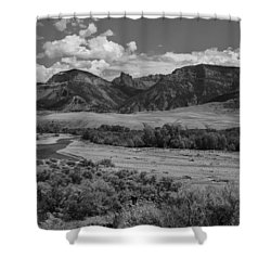 Open Valley Shower Curtain