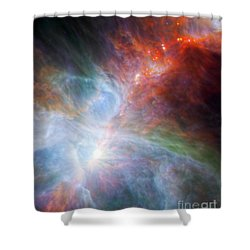 Orion Nebula Shower Curtain by Science Source