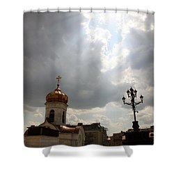 Orthodox Church  Shower Curtain by Lali Kacharava