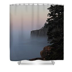 Otter Cliffs 2 Shower Curtain