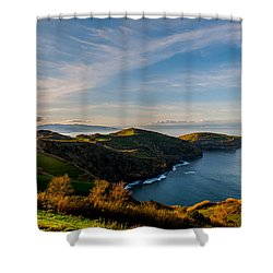 Out Bond To The Sea Shower Curtain
