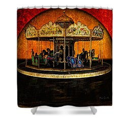 Painted Ponies Shower Curtain by Bob Orsillo