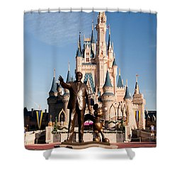Partners 2 Shower Curtain