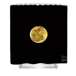Passover Full Moon Shower Curtain by Al Powell Photography USA