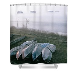 Shower Curtain featuring the photograph Patiently Waiting by David Porteus