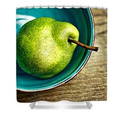 Pears Shower Curtain by Nailia Schwarz