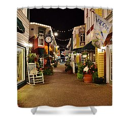 Penny Lane - Rehoboth Beach Delaware Shower Curtain