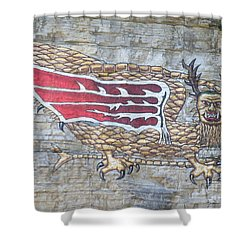 Piasa Bird Shower Curtain by Kelly Awad