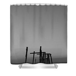 Pier Portrait Shower Curtain