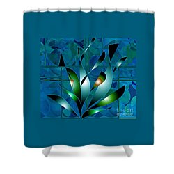 Planted Beauty Shower Curtain by Iris Gelbart