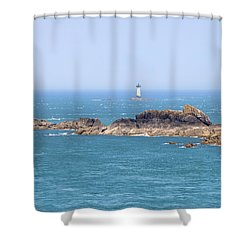 Pointe Du Grouin - Brittany Shower Curtain by Joana Kruse