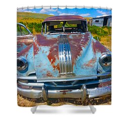 Pontiac Blues Shower Curtain