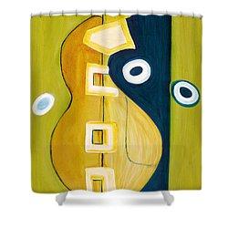 Portrait Of A Humble Man 4 Shower Curtain