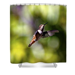 Posed Shower Curtain by Joe Schofield
