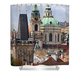 Shower Curtain featuring the photograph Prague by Ira Shander