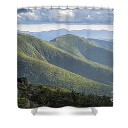 Presidential Range - White Mountains New Hampshire Shower Curtain