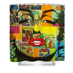 Pulp Marilyn Shower Curtain