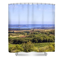 Purbeck - Dorset Shower Curtain by Joana Kruse